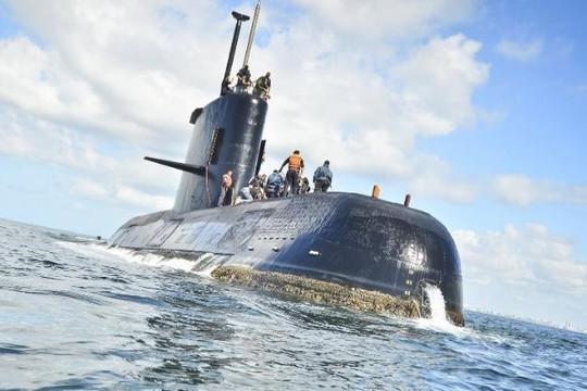 Tàu ngầm hải quân Argentina mất tích vì phụ tùng kém chất lượng