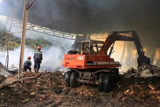 Cháy nhà xưởng ở Bình Dương, 2 công nhân tử vong