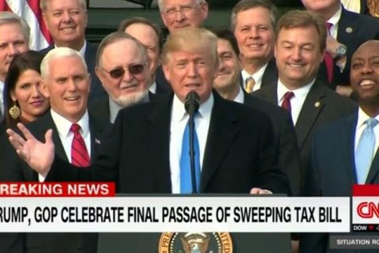 Mỹ thông qua dự luật cải cách thuế