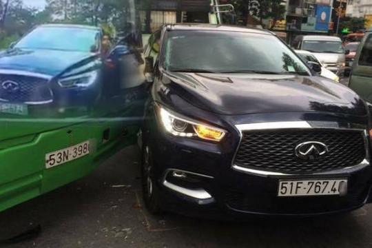 Tài xế ô tô 3 tỉ vượt láo trên đèo ở Đà Lạt còn hổ báo, về Sài Gòn gặp tai nạn