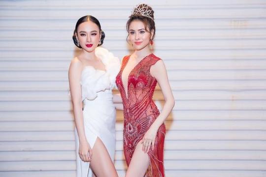 Angela Phương Trinh sexy đến mừng Hoa hậu Thư Dung