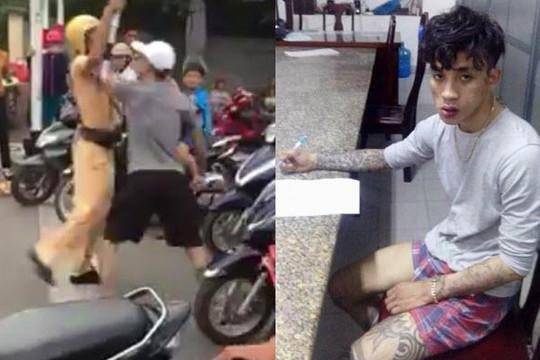 Thanh niên xăm trổ Nha Trang rút dao tấn công CSGT giữa đường và cái kết đắng