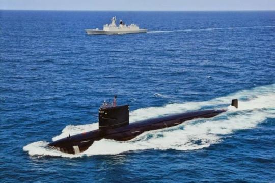 Tàu ngầm hạt nhân Trung Quốc dễ bị phát hiện vì 'quá ồn'