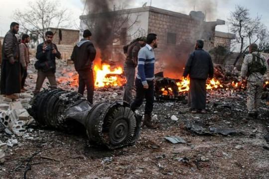 Nga tăng cường không kích quân nổi dậy Syria sau vụ Su-25 bị bắn rơi