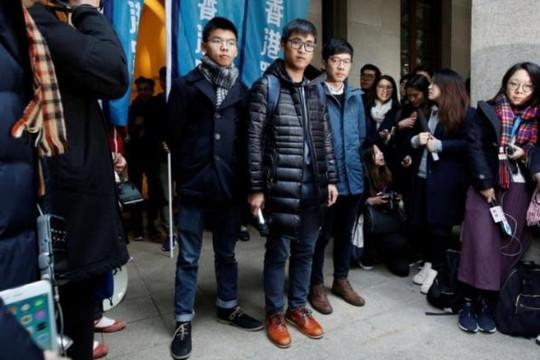 Tòa tối cao Hồng Kông trả tự do cho ba thủ lĩnh biểu tình