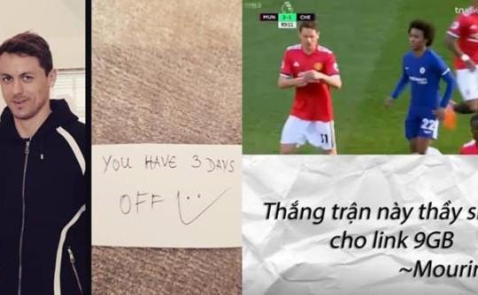 Link clip sex 9GB của Kiều Anh Hera và loạt ảnh chế mật thư Mourinho gửi Matic