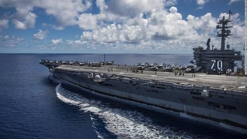 Thế giới nói về chuyến thăm của tàu sân bay USS Carl Vinson tới Việt Nam