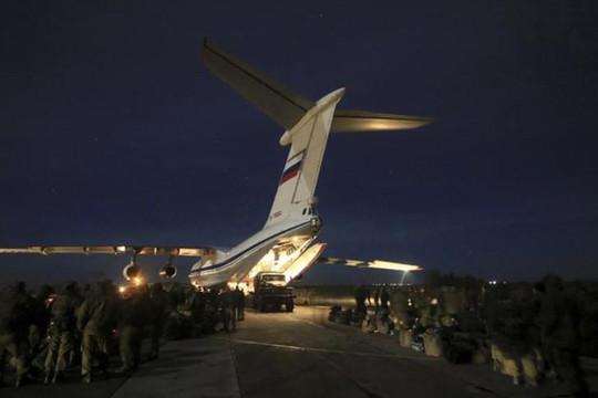 Máy bay quân sự Nga rơi ở Syria, 32 binh sĩ thiệt mạng
