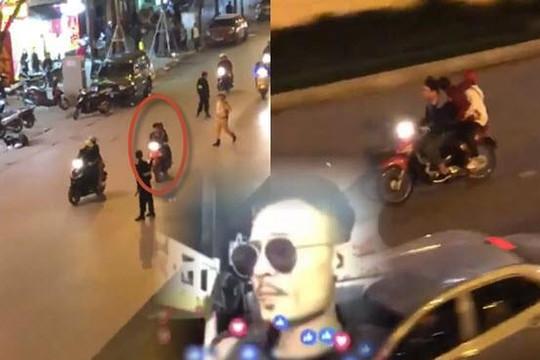 Clip Hoa Vinh bị mẹ bóc mẽ lừa khán giả, tổ lái kẹp 3 vượt chốt CSGT Hà Nội