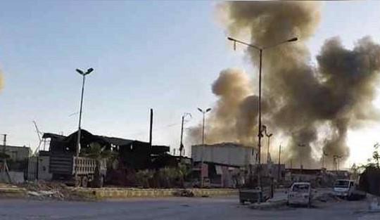 Syria tố Mỹ không kích căn cứ quân sự có mặt cố vấn Nga