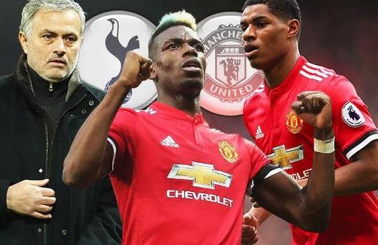 HLV Jose Mourinho sẽ tin dùng bộ đôi Paul Pogba và Marcus Rashford trong cuộc đụng độ với The Spurs?