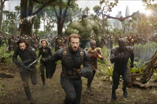 Doanh thu của siêu phẩm 'Avengers: Infinity War' tăng liên tục
