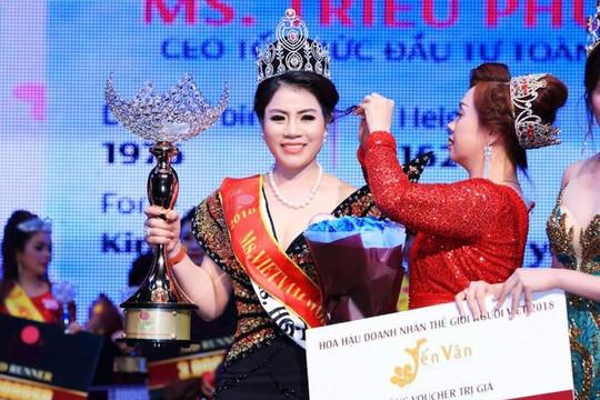 Hoa hậu doanh nhân cầm đầu đường dây mua bán hóa đơn nghìn tỉ