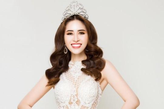 Ngọc Hân nhận giải Hoa hậu được yêu thích nhất tại Miss Glam World