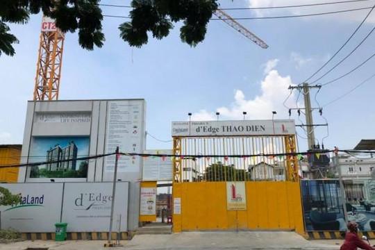 Hàng loạt nhà gần dự án của Capitaland Thanh Niên nứt, sụt lún
