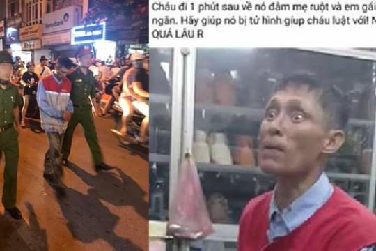 Chồng cũ cầm kéo đâm gục vợ ở phố Bạch Mai, con gái muốn bố bị tử hình?!