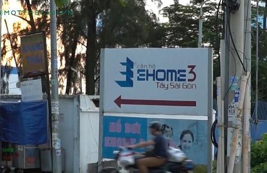 Chung cư Ehome 3: Bán căn hộ không có bãi giữ xe cho cư dân!