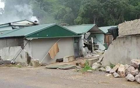 Nơi ẩn náu của ông trùm ma túy bị tiêu diệt ở Lóng Luông