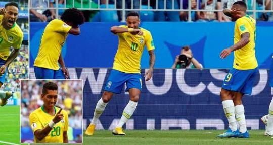 Neymar toả sáng đưa Brazil vào tứ kết