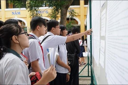 TP.HCM: 63 trường công lập tăng điểm chuẩn vào lớp 10