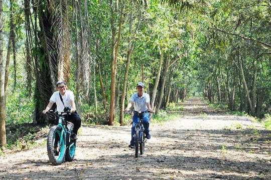 Cuối tuần đi đổi gió ở rừng tràm nguyên sinh chỉ cách Sài Gòn 2 giờ chạy xe
