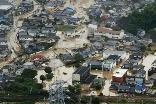 Mưa lũ lịch sử tại Nhật: 128 người thiệt mạng, vẫn còn nhiều người mất tích