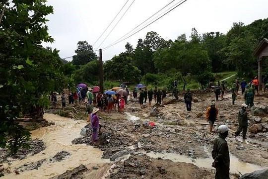 Thanh Hóa: Lũ quét trong đêm khiến 2 người chết, nhiều người bị thương, mất tích
