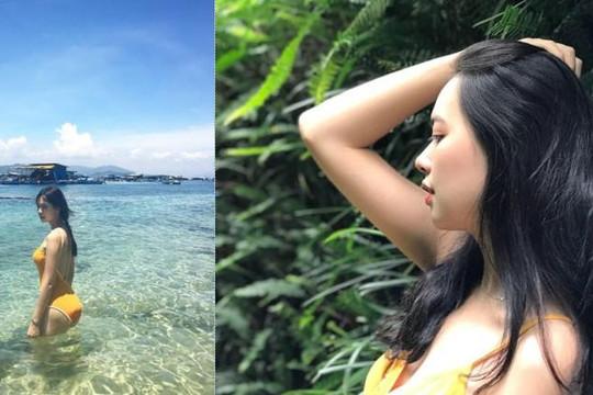 Vẻ nóng bỏng của nữ giảng viên Đại học Xây dựng lọt top 5 Hoa hậu Hoàn vũ Việt Nam
