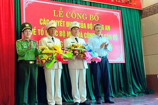 Công an TP.Đà Nẵng có 8 phó giám đốc