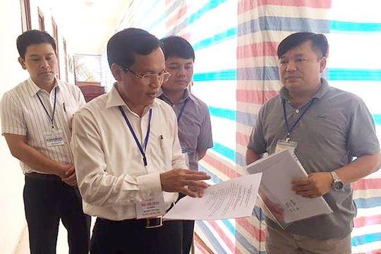 Thủ tướng yêu cầu rà soát quy trình tổ chức kỳ thi THPT quốc gia 2018