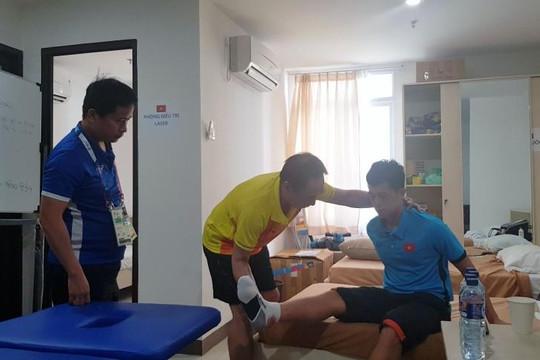Tin vui cho Olympic Việt Nam khi trung vệ Đình Trọng có thể kịp ra sân trận tứ kết với Syria