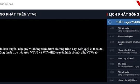 VTC lý giải việc VTV6 phải dừng phát sóng trận Việt Nam - Bahrain