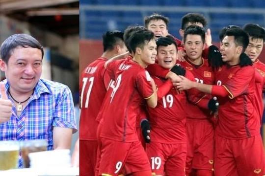 Danh hài Chiến Thắng 'gây sốt' khi làm thơ cổ vũ Olympic Việt Nam