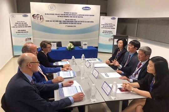 Vinamilk-Bệnh viện Chợ Rẫy ký kết hợp tác chiến lược nâng tầm quốc tế