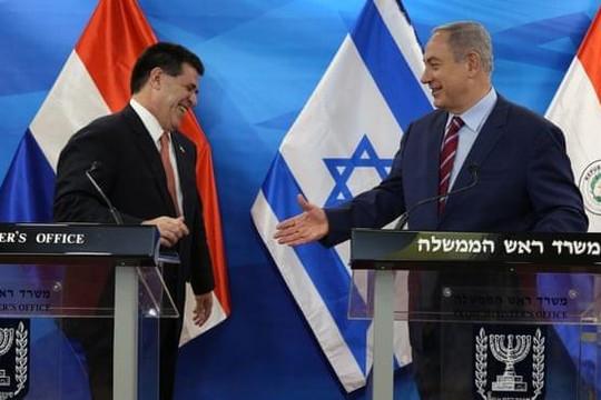 Israel bất ngờ cắt quan hệ ngoại giao với Paraguay