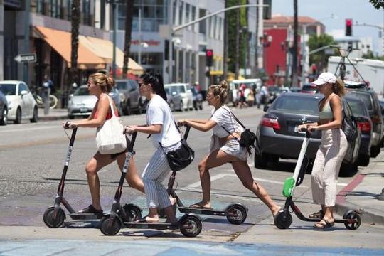 Xe điện scooter sẽ định hình lại giao thông tại các thành phố ở Mỹ?