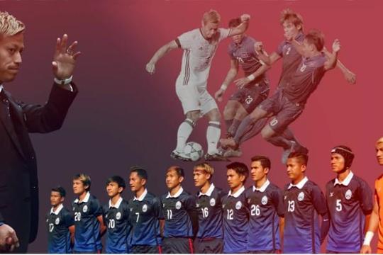 Dưới triều đại Keisuke Honda, tương lai nào đang chờ đón bóng đá Campuchia?