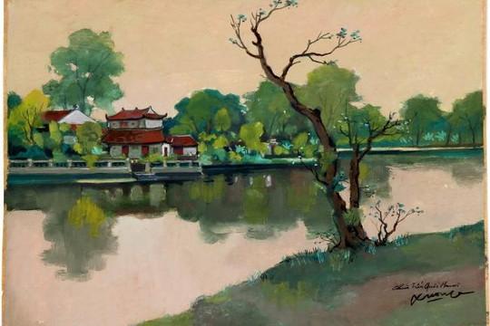 Họa sĩ Lê Văn Xương: Vẽ với lòng thanh thản