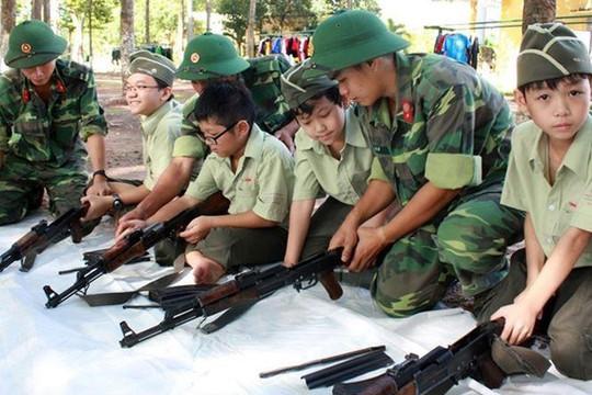 TP.HCM: Yêu cầu rà soát các phương tiện, vũ khí phục vụ giáo dục quốc phòng