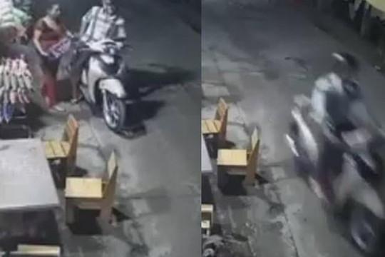 Clip kẻ lưu manh đi SH cướp thùng bia, bỏ chạy như cơn gió ở Sài Gòn