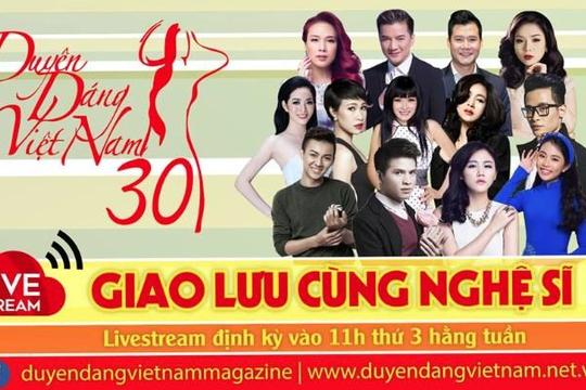 Nghệ sĩ Việt chia sẻ chuyện đời, chuyện nghề trên Duyên Dáng Việt Nam
