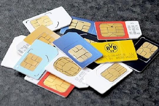Đề xuất cấm mua bán SIM rác