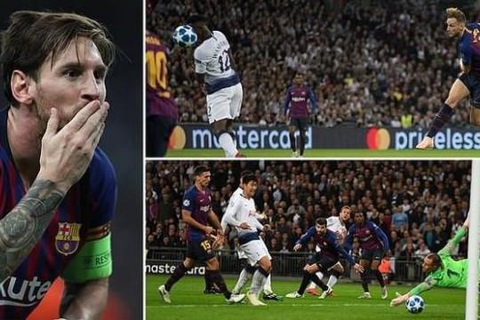 Barcelona thắng to trên đất Anh, Liverpool mất ngôi đầu bảng