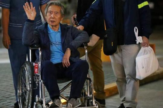 Cựu Tổng thống Peru từng đươc ân xá lại phải vào tù