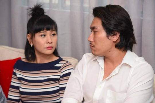 Cát Phượng bật khóc cùng Kiều Minh Tuấn xin lỗi vì ồn ào chuyện tình cảm với An Nguy