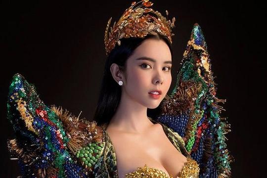 Huỳnh Vy mang 'Nữ thần mùa màng' đến Miss Tourism Queen Worldwide 2018