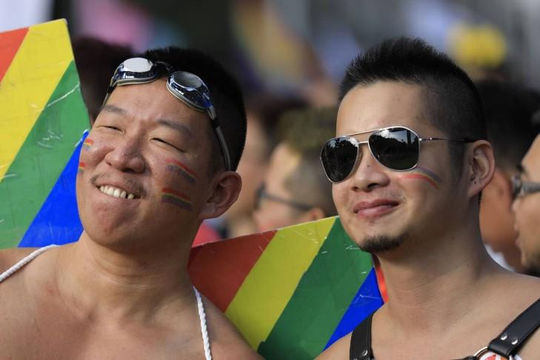 Những hình ảnh đẹp nhất tại lễ hội tự hào của cộng đồng LGBT tại Đài Loan