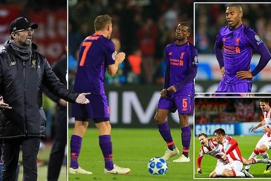 Barcelona có vé sớm, Liverpool thua sốc
