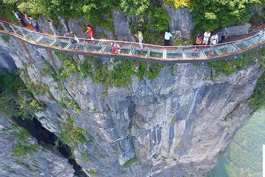 Những địa danh đẹp ở Trung Quốc chụp từ trên cao