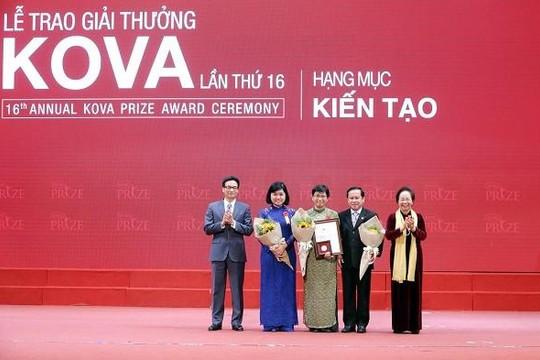 3 công trình khoa học ứng dụng nhận giải thưởng KOVA lần thứ 16